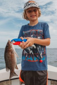 Winter Fishing Mangrove Snapper