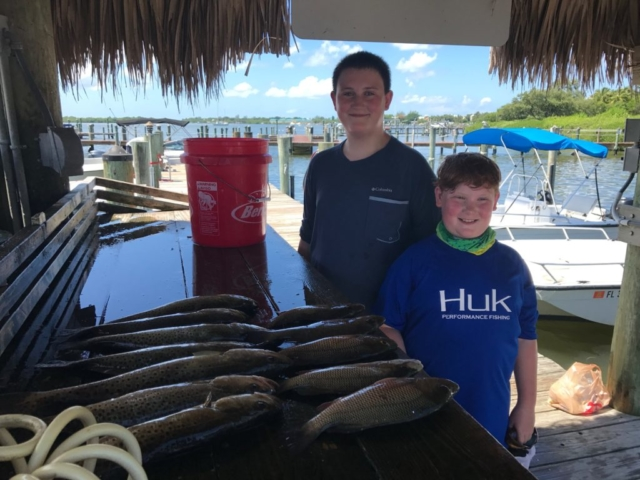 Family Fishing Sanibel Captiva