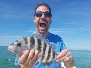 Sanibel Sheepshead Fishing